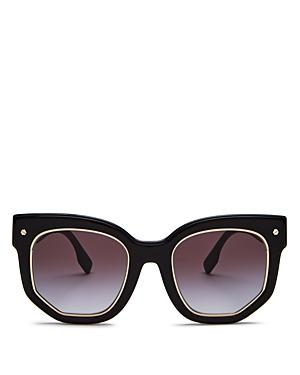 Burberry Women's Irregular Sunglasses, 50mm