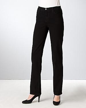 Nydj Petites' Slim-leg Jeans In Overdye Wash