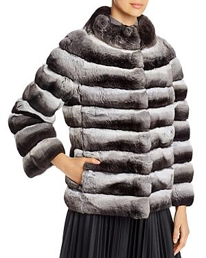 Maximilian Furs Short Chinchilla Jacket - 100% Exclusive
