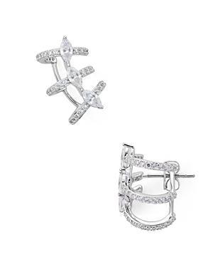 Nadri Rae Cage Earrings