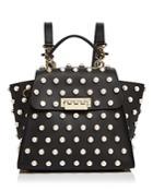 Zac Zac Posen Eartha Iconic Faux-pearl Convertible Leather Backpack