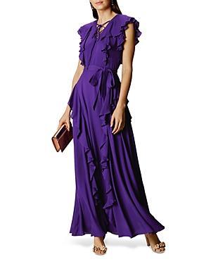 Karen Millen Atelier Ruffled Gown