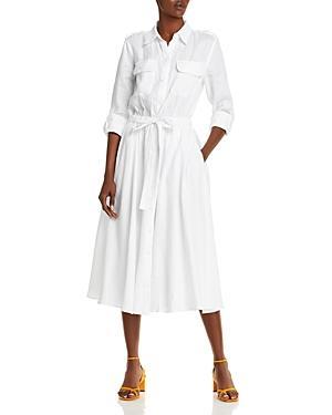 Equipment Jacquot Belted Linen Dress