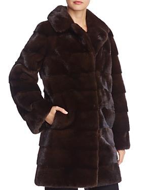 Maximilian Furs Nafa Mink Fur Coat - 100% Exclusive
