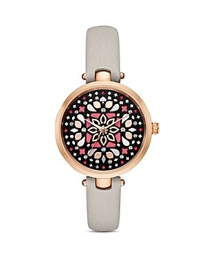 Kate Spade New York Leather Mosaic Holland Watch, 34mm