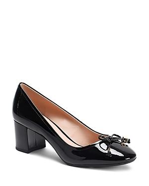 Kate Spade New York Women's Bev Bow Mid-heel Pumps
