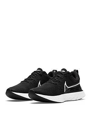 Nike Women's React Infinity Run Flyknit 2 Purple & Black Running Sneakers