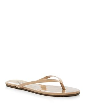 Tkees Patent Leather Flip Flops