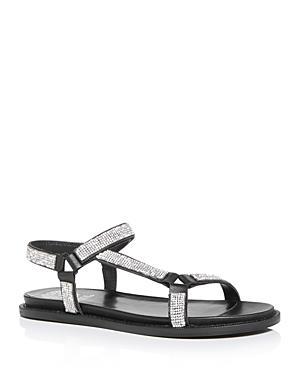 Vince Camuto Women's Arabelem Crystal Embellished Flat Sandals