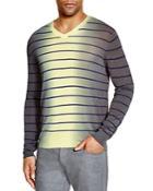 Armani Collezioni Striped Gradient Sweater