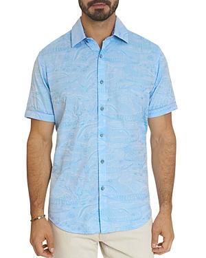 Robert Graham Sanctuary Tonal Animal Jacquard Classic Fit Button-down Shirt
