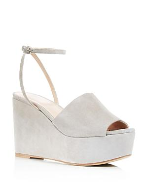 Charles David Patricia Platform Wedge Ankle Strap Sandals