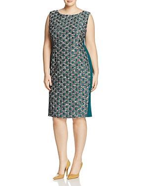 Marina Rinaldi Dattilo Jacquard Sheath Dress