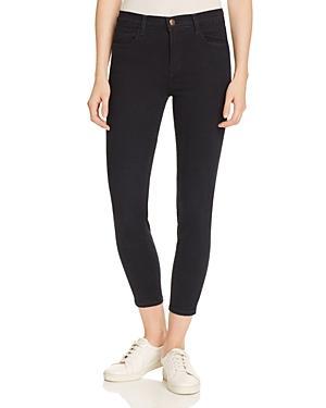 J Brand Alana Cropped Skinny Jeans In Bluebird