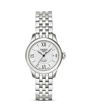 Tissot Le Locle Women's Silver Stainless Steel Automatic Watch, 25mm