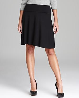 Three Dots Foldover Skirt