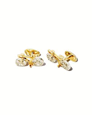 Paul Smith Bicycle Sterling Silver Cufflinks