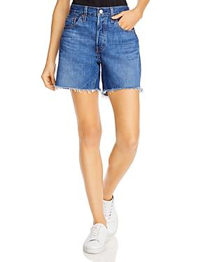 Levi's 501 Cotton Cutoff Denim Shorts