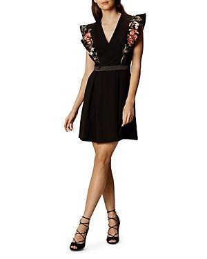 Karen Millen Boho Embroidered Dress