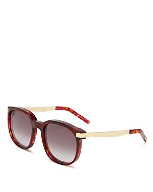 Wildfox Geena Square Sunglasses, 55mm