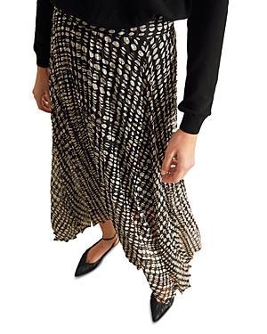 Ba & Sh Bessie Printed Midi Skirt