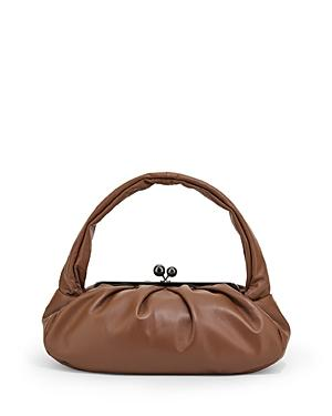 Weekend Max Mara Kaya Leather Shoulder Bag