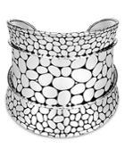 John Hardy Sterling Silver Kali Wide Cuff Bracelet