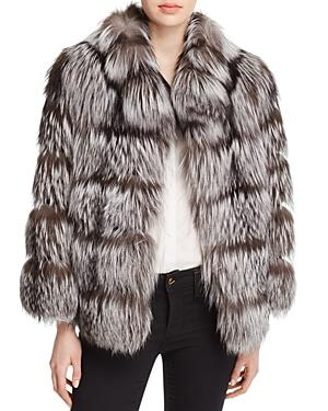 Maximilian Furs Fox Fur Jacket