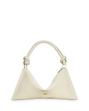 Cult Gaia Hera Medium Leather Shoulder Bag