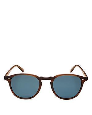 Garrett Leight Unisex Round Sunglasses, 46mm