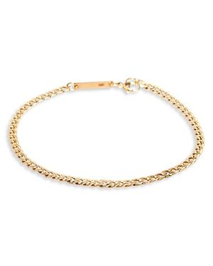 Zoe Chicco 14k Yellow Gold Curb Link Bracelet