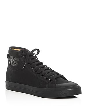 Raf Simons For Adidas Spirit High Top Sneakers