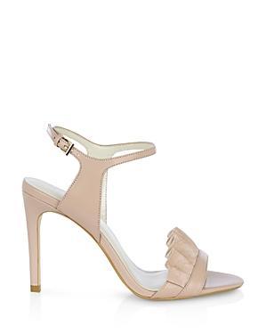 Karen Millen Ruffle High Heel Sandals