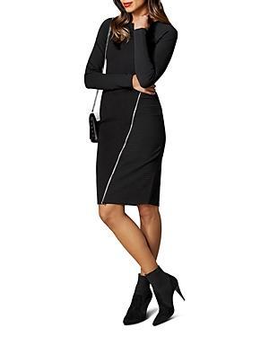 Karen Millen Zip Detail Body-con Dress
