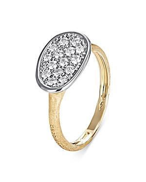 Marco Bicego 18k Yellow & White Gold Lunaria Diamond Ring