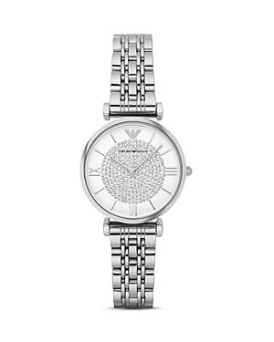 Emporio Armani Women's Two Hand Stainless Steel Watch, 32 Mm