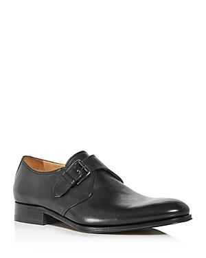To Boot New York Men's Conner Leather Single Monkstrap Loafers