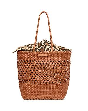 Loeffler Randall Maya Woven Leather Tote
