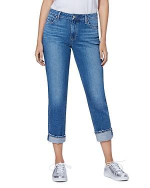 Paige Brigitte Slim Boyfriend Jeans In Trail