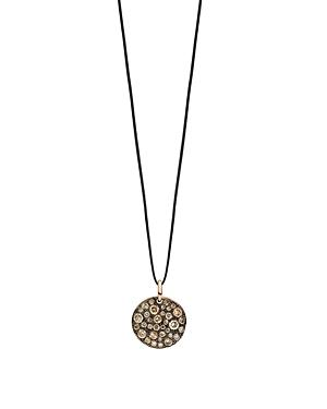 Pomellato Sabbia Pendant With Brown Diamonds In 18k Rose Gold