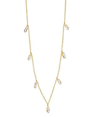 Gorjana Amara Fringe Station Necklace, 18