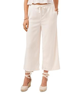 1.state Cropped Silk Pants