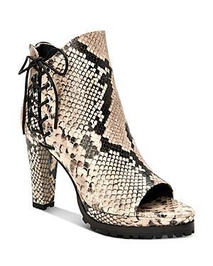 Allsaints Women's Michela Open-toe High-heel Booties