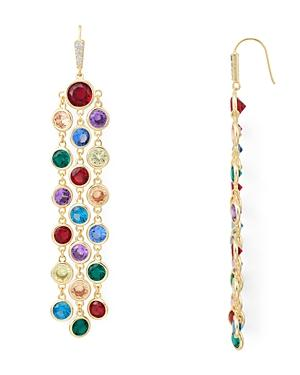 Kendra Scott Daya Multicolor Faceted-stone Drop Earrings