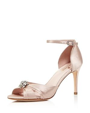 Kate Spade New York Medina Embellished Ankle Strap High Heel Sandals