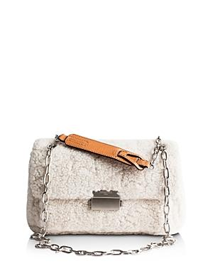 Zadig & Voltaire Ziggy Shearling Shoulder Bag