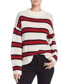 Rebecca Minkoff Taylor Drop Shoulder Stripe Sweater