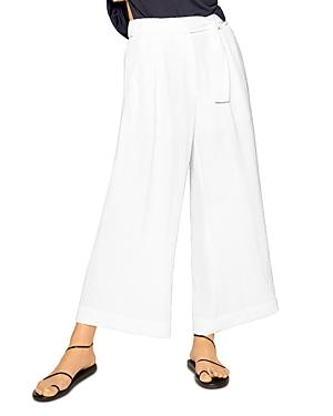 B New York Belted Wide Leg Pants
