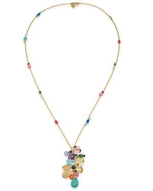 Lauren Ralph Lauren Beaded Pendant Necklace, 32