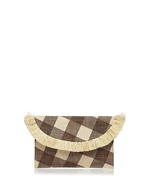 Kayu Gingham Envelope Clutch